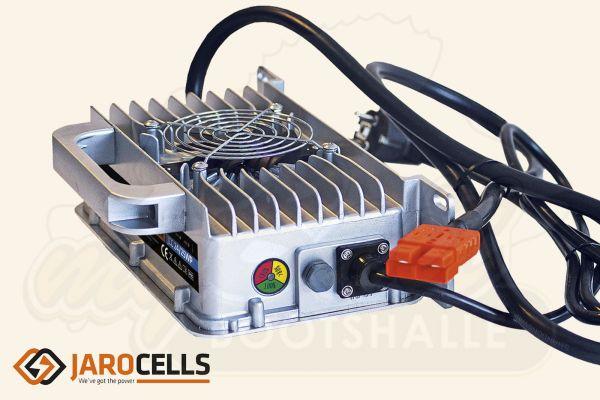 Jarocells LiFePo4 Lithium Ladegerät, Aluminium, Wasserdicht IP65