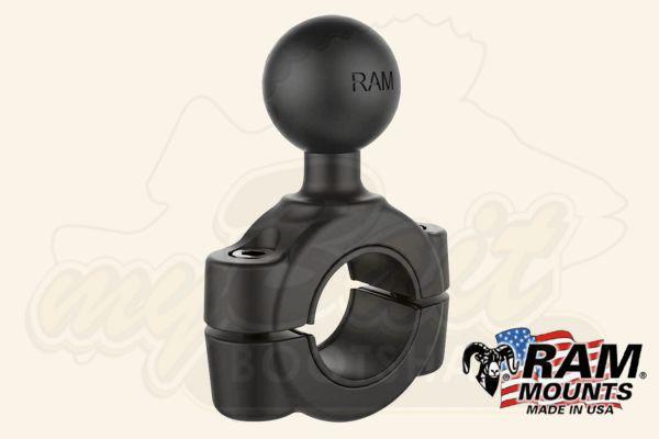 RAM Mounts Relinghalter mit Kugelverbindung (Rail Mount Base)