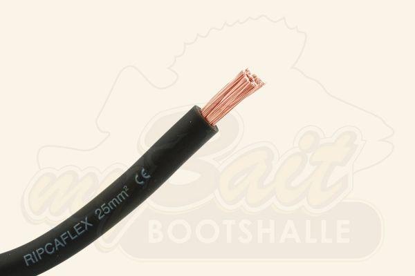 Batteriekabel 1 x 25mm² Schwarz