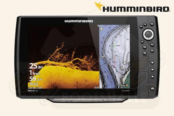 Humminbird HELIX 12 CHIRP MEGA DI+ GPS G3N