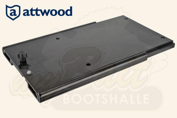 Ansicht Attwood Montageplatte für Minn Kota Elektromotoren Rückseite