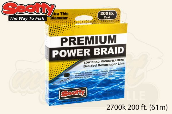 Scotty Premium Power Geflochtene Schnur No. 2700k