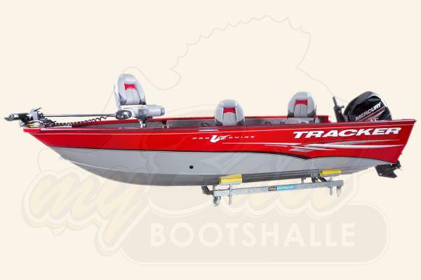 Angelboot TRACKER Pro Guide V-16 Tiller