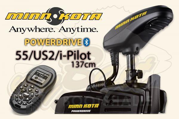 Minn Kota PowerDrive 55/US2/i-Pilot 137cm