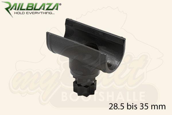 Railblaza Quickgrip Paddel Clip Paddelhalterung Kescherhalterung 28.5 bis 35 mm