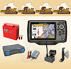 Humminbird Helix 5 Sonar GPS Portabel-Set 2