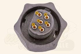 Lowrance Uniplug Stecker Polbelegung eines PDT-WSU 83/200 kHz Gebers