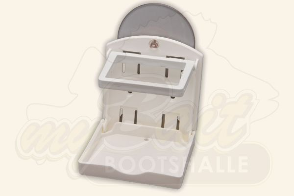 BoatMates Stor-Aweigh Electronics Caddy White