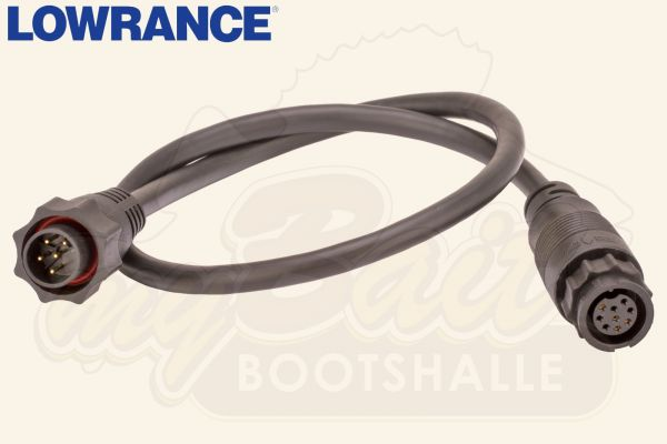 Lowrance Adapter Kabel 9-Pin zu 7-Pin Blue-Connector