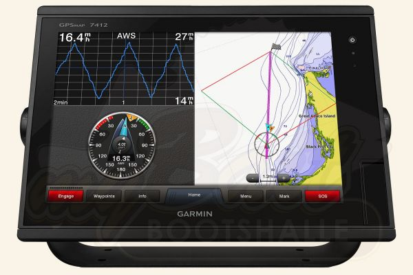 Garmin GPSMAP 7412 Kartenplotter