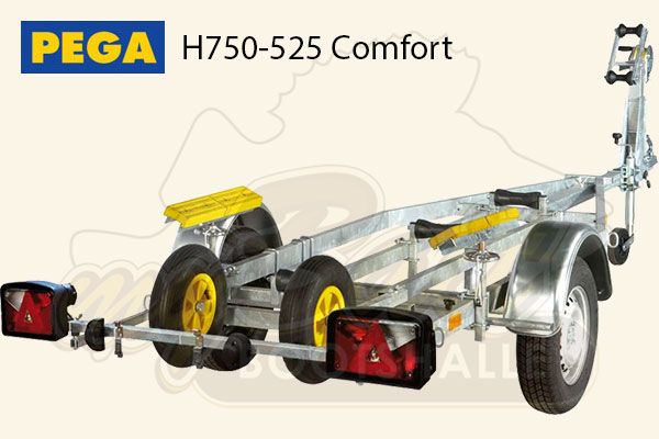 Pega Bootstrailer H750-525 Comfort