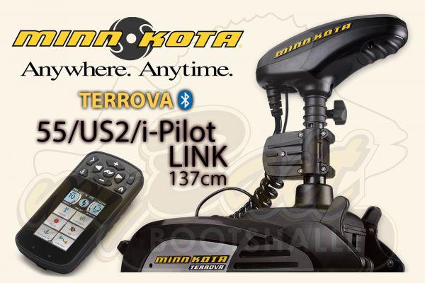 Minn Kota Terrova 55 US2/i-Pilot-Link mit 137cm Schaft