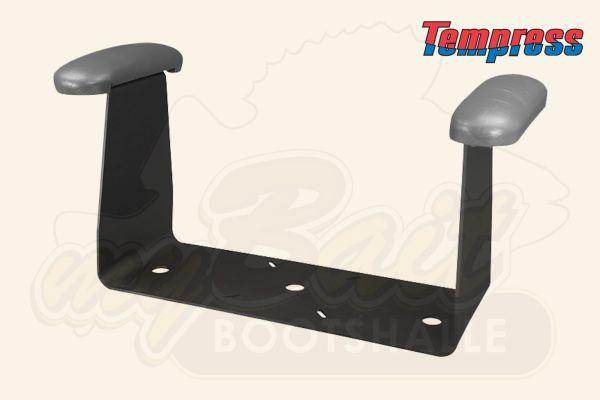 Armlehne für Bootsstuhl Bootssitz in schwarz von Tempress 90114
