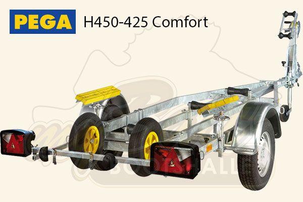 Pega Bootstrailer H450-425 Comfort