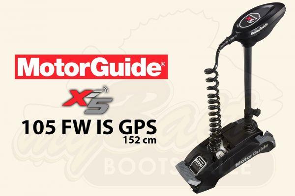 MotorGuide Xi5-105 FW IS GPS, 152cm Schaft