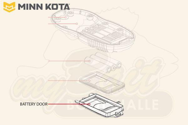 Minn Kota Ersatzteil: Batteriefachdeckel für i-Pilot BT