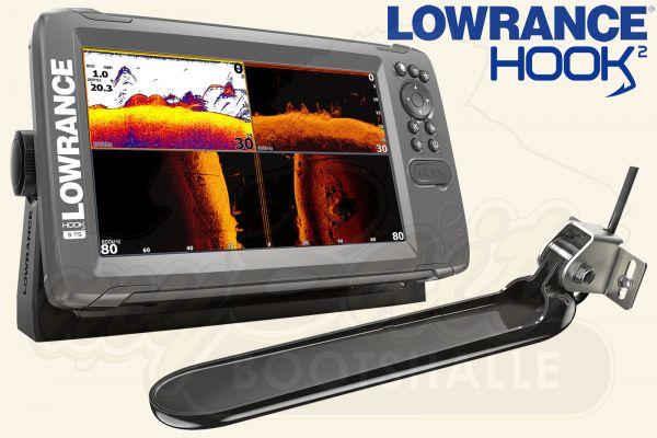 Lowrance Hook2-9 inkl. TripleShot Geber