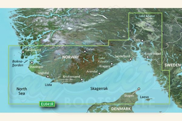 Garmin Bluechart g3 Seekarte