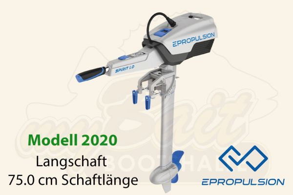 ePropulsion Spirit 1.0 Plus Elektromotor Außenborder