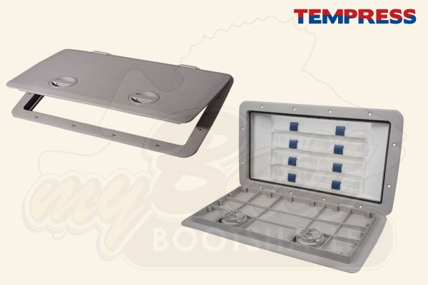 Tempress Einbaukasten mit 4 Köderboxen Cam Tackle 44580 & 44583