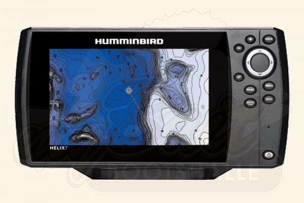 Humminbird Helix 7 GPS G2 Kartenplotter (ohne Sonar)