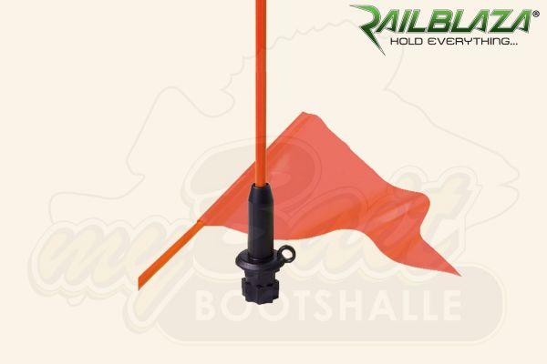 Railblaza Wimpelpeitsche mit Sternadapter schwarz