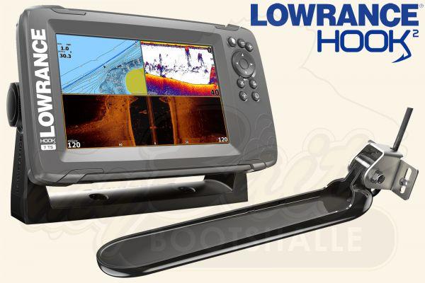 Lowrance Hook2-7 inkl. TripleShot Geber