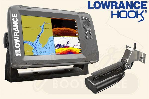 Lowrance Hook2-7 inkl. SplitShot HDI Geber