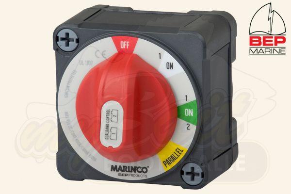 BEP Marine Batterieschalter Dual Bank 400A - 722-DBC-EZ