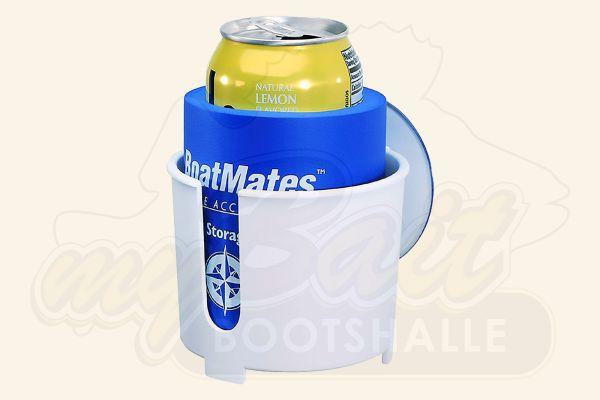 BoatMates Drink Holder mit Thermohülle - White