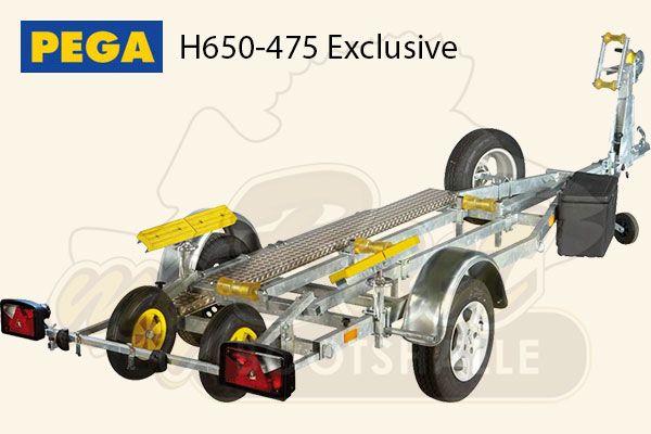 Pega Bootstrailer H650-475 Exclusive