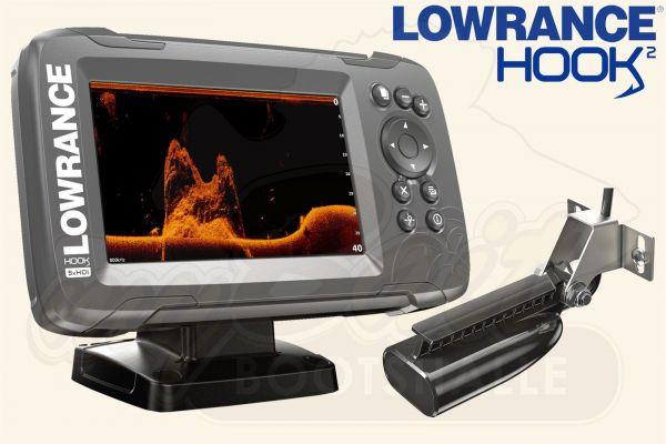 Lowrance Hook2-5x GPS inkl. SplitShot Geber