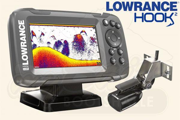 Lowrance Hook2-4x GPS inkl. Bullet Skimmer Geber