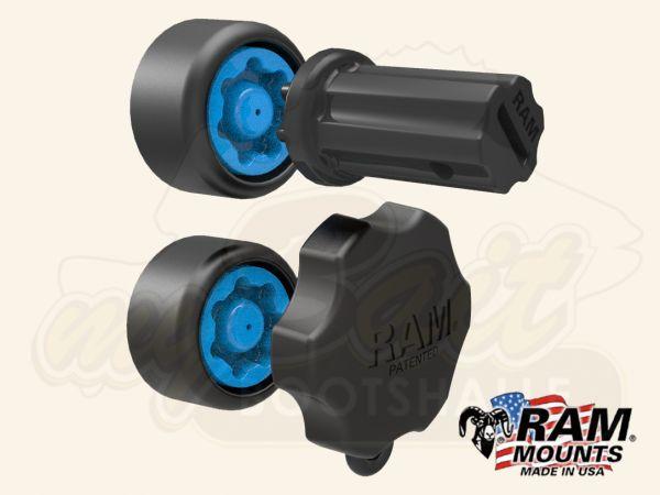 RAM Mounts RAP-S-KNOB5-GU Rändelschrauben Sicherheits-Set