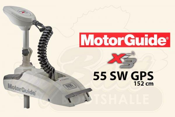 MotorGuide Xi3-55 SW GPS, 152cm Schaftlänge