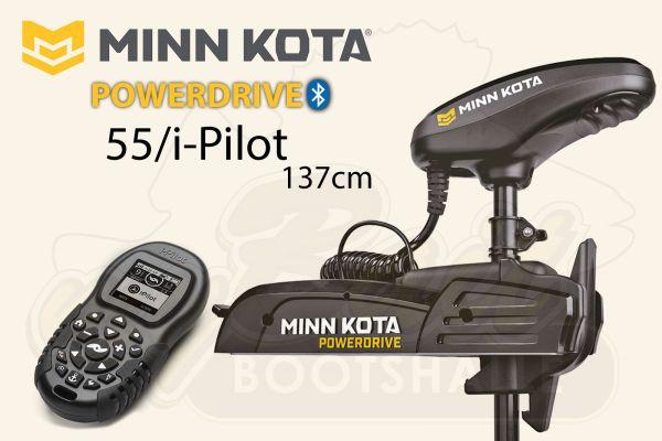 Minn Kota PowerDrive 55/i-Pilot 137cm