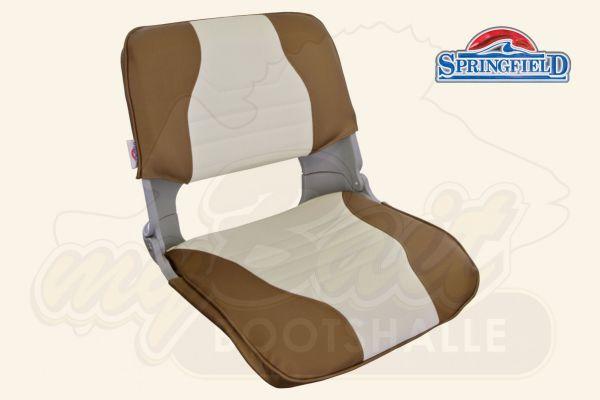 Springfield Bootsstuhl Skipper Deluxe brown/white