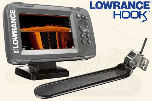 Lowrance Hook2-5 inkl. TripleShot Geber