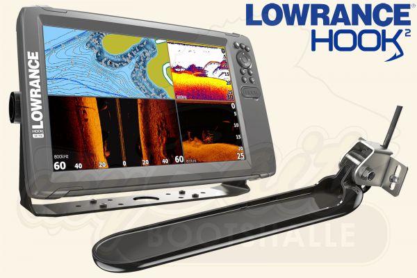 Lowrance Hook2-12 inkl. TripleShot Geber