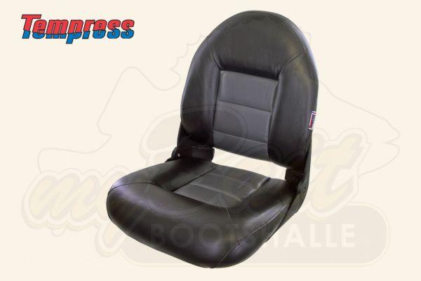 Tempress NaviStyle High Back Bootsstuhl Black/Charcoal