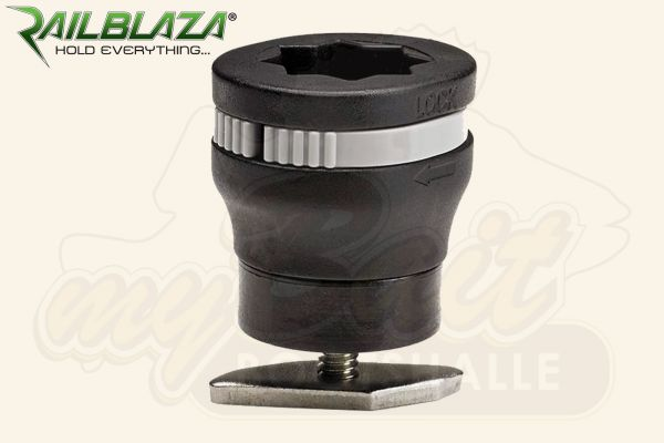Railblaza MiniPort Track Mount Sockel