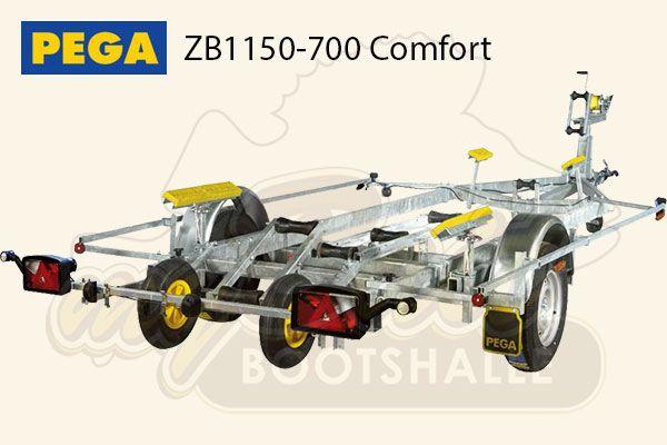 Pega Bootstrailer ZB1150-700 Comfort