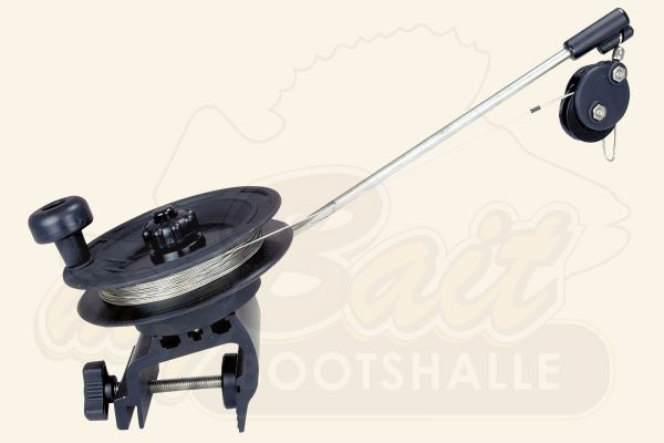 Scotty Downrigger Laketroller mit Klemmhalterung 1071