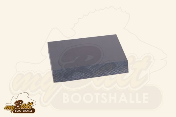Ansicht Kunststoffplatte für Geberhalterung klein kurze Seite