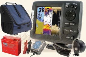 Lowrance Elite-5 HDI (83/200 + 455/800 kHz) Portabel Set-1