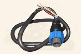 Lowrance Adapter Kabel f. BSM-1, 7 pin Blauer Stecker an offene Enden
