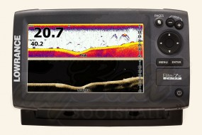 Lowrance Elite-7x CHIRP inkl. 50/200 + 455/800 kHz