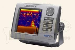 Lowrance HDS-5x Gen2 mit 83/200 kHz Geber