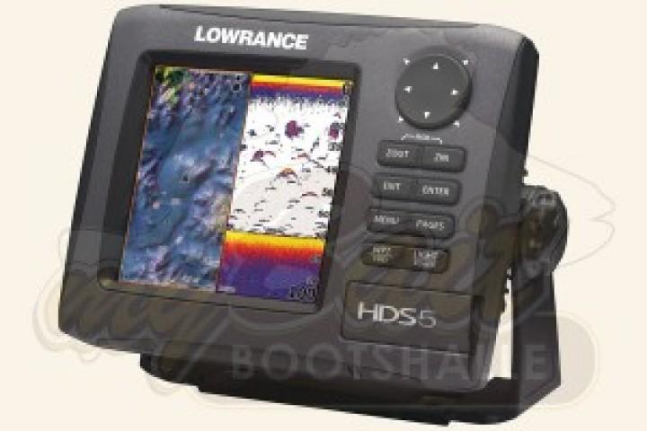 Lowrance HDS-5 Gen2 mit 83/200 kHz Geber