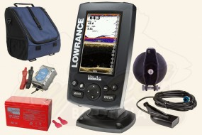 Lowrance Elite-4x CHIRP (83/200 + 455/800 kHz) Portabel Set-1